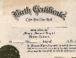 Berger, Kathryn Marie - Birth Certificate