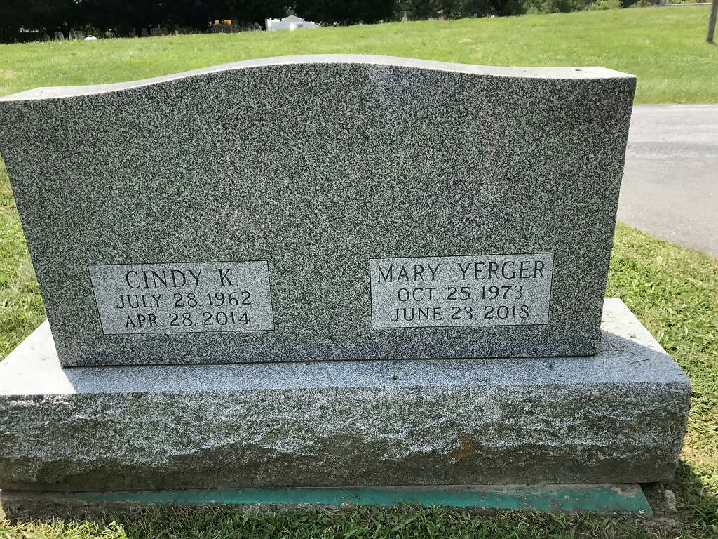 Yerger, Cindy K. and Mary