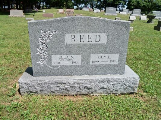 Reed, Guy L. & Ella N. (Boltz)