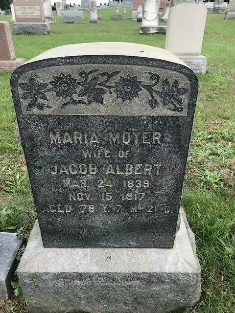 Albert, Maria (Moyer)