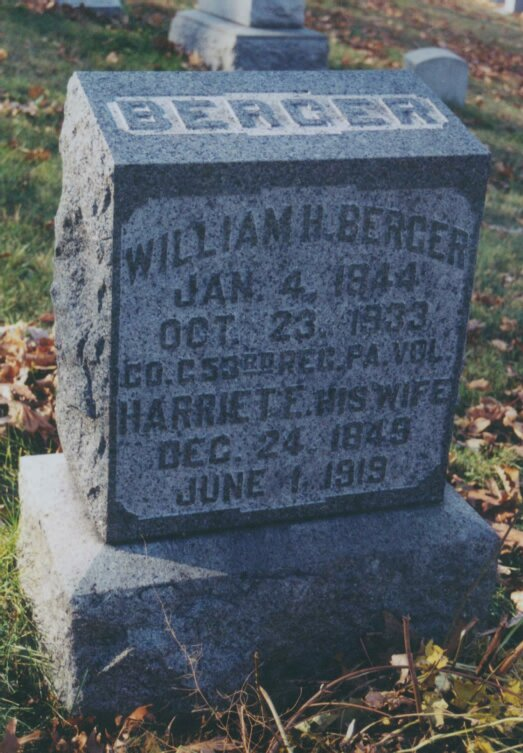 Berger, William H & Harriet E.