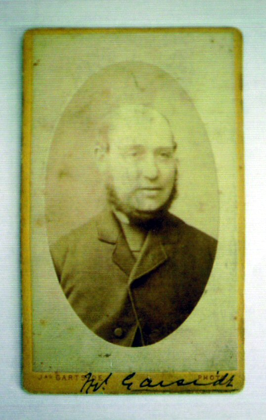 Mr. Garside, father of Thomas Douglas Hamilton Garside